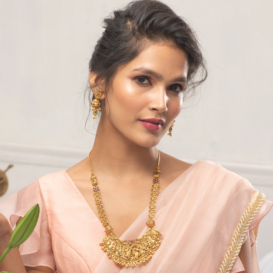 Anisha Antique Necklace Set