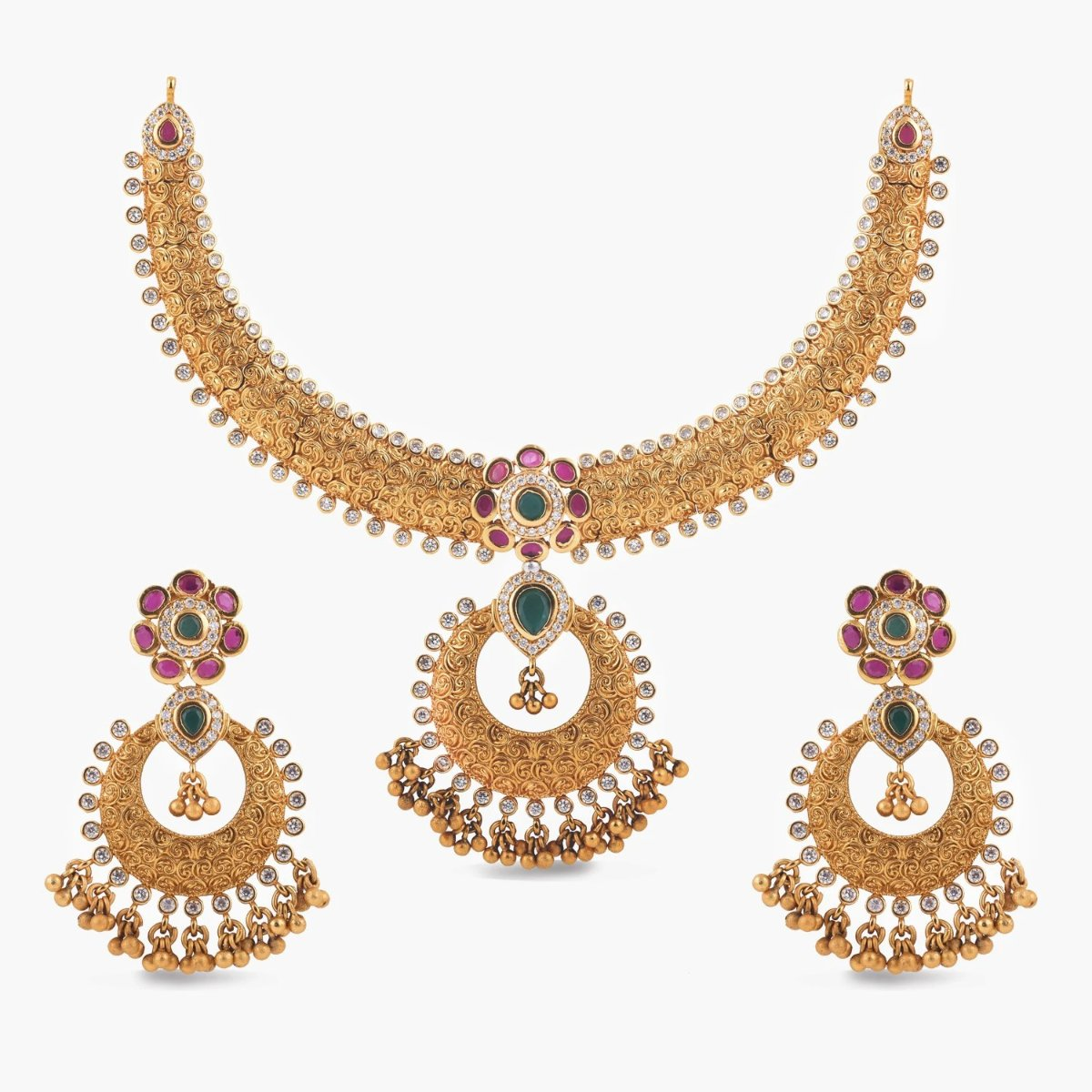 Avni Antique Necklace Set