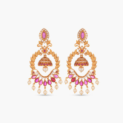 Aagam Antique Earrings by Tarinika