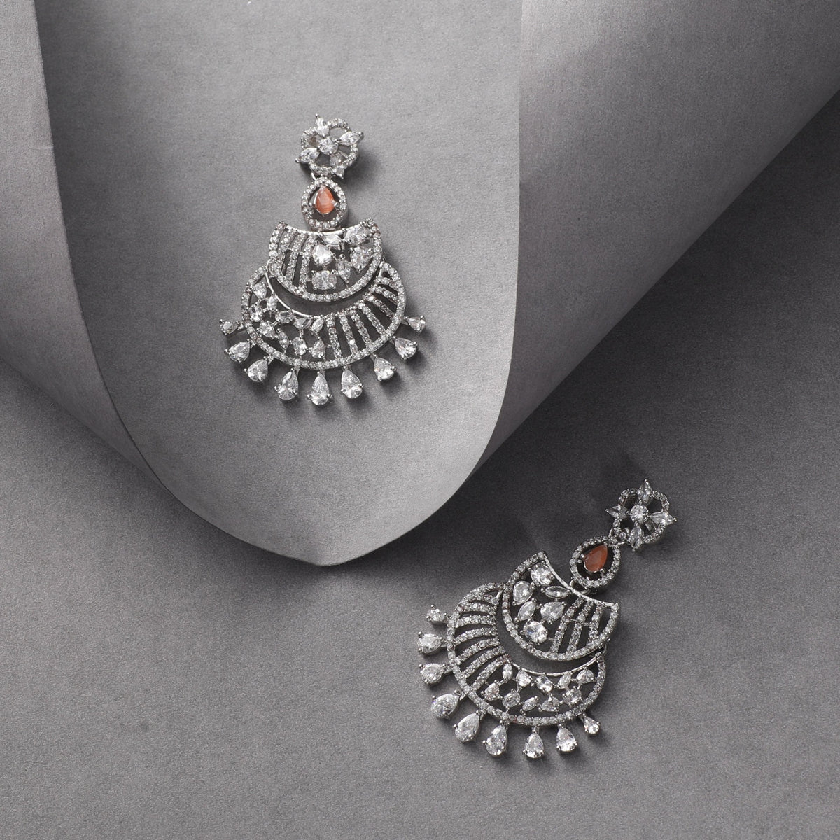 Lizzia Nakshatra CZ Earrings