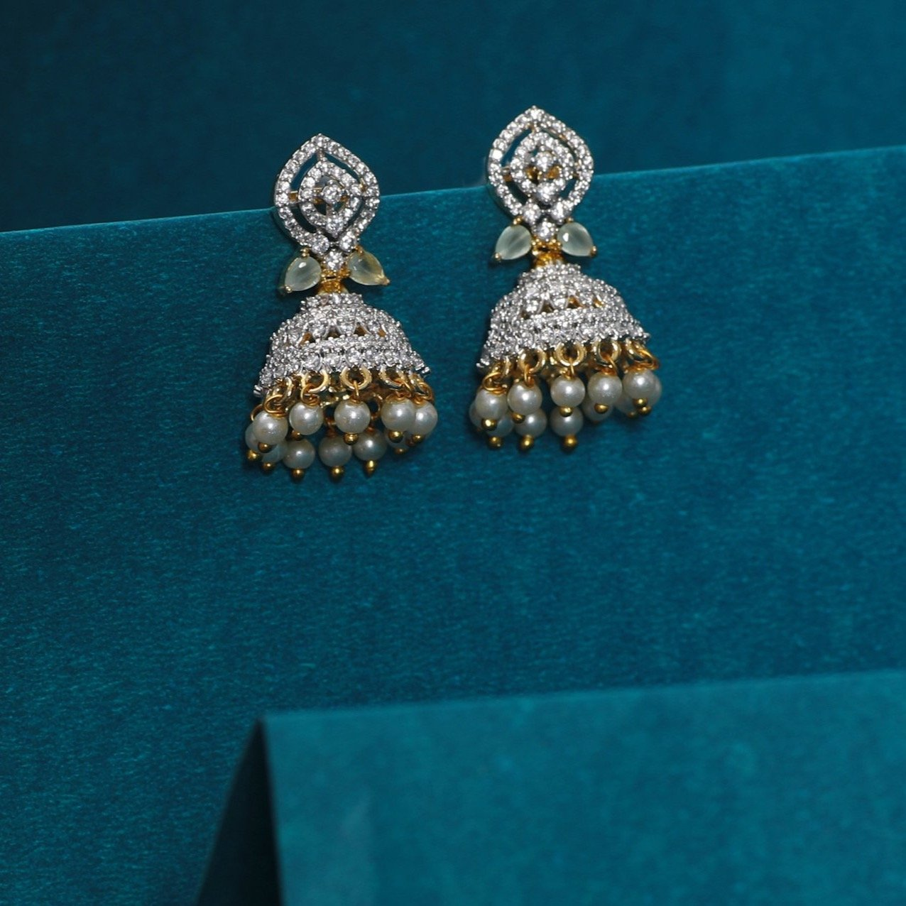 Haima Nakshatra CZ Earrings