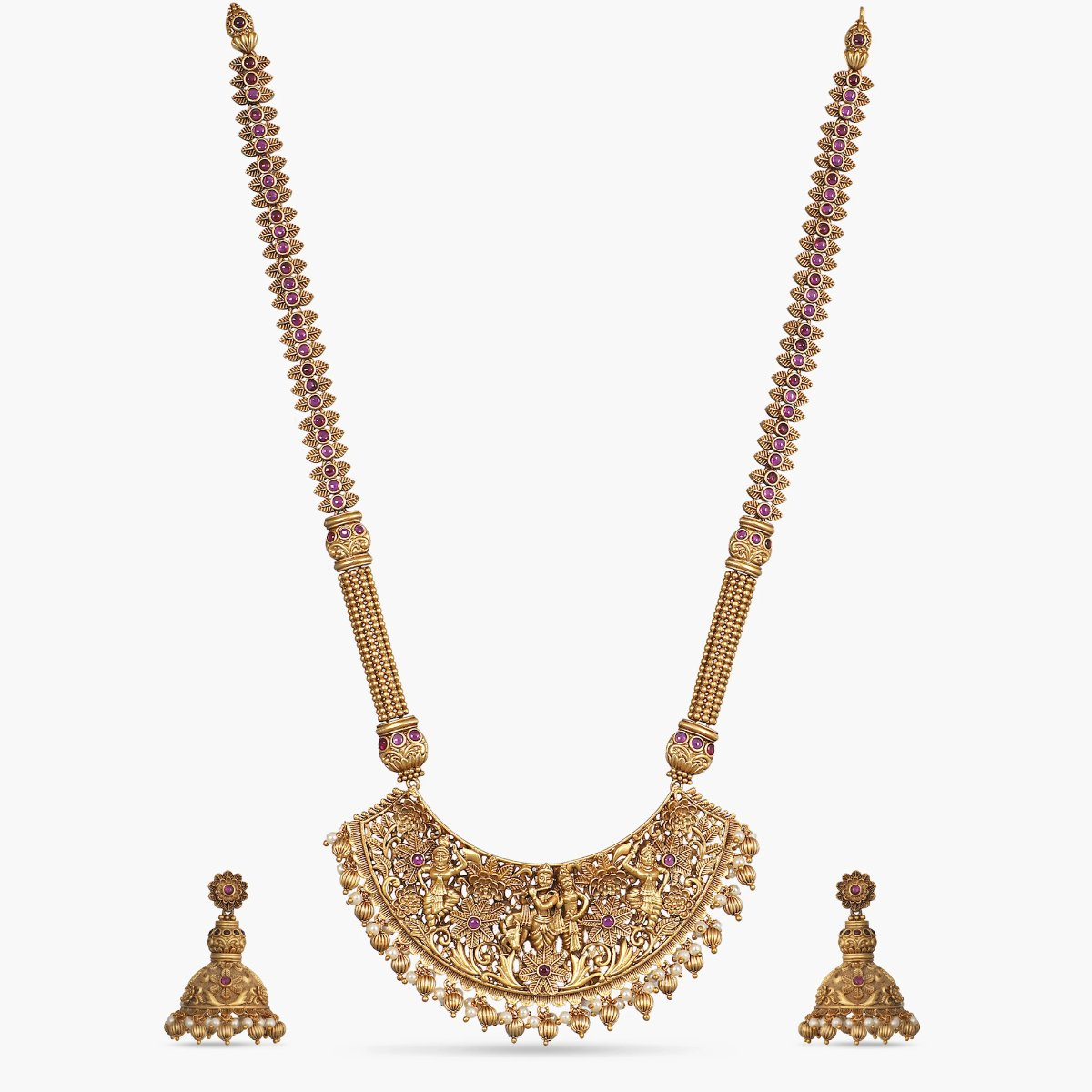 Lolita Antique Long Necklace Set