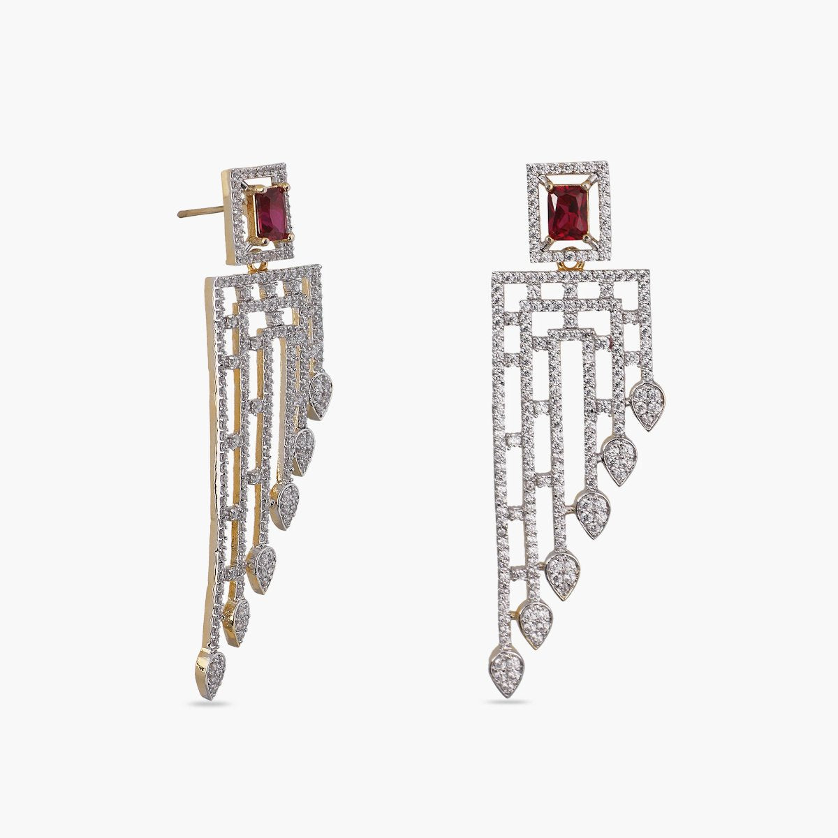 Itkila Nakshatra CZ Earrings