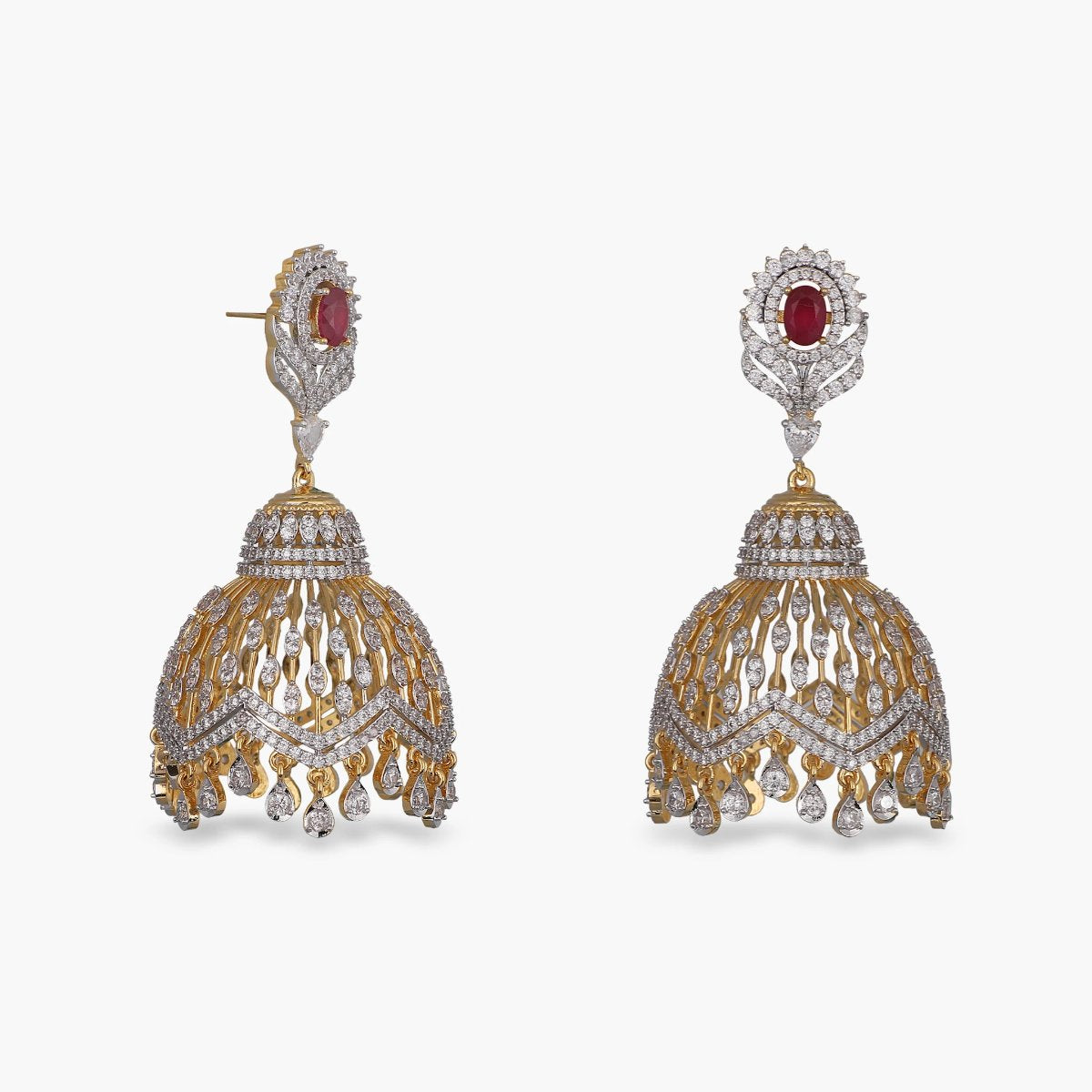 Amira Nakshatra CZ Earrings