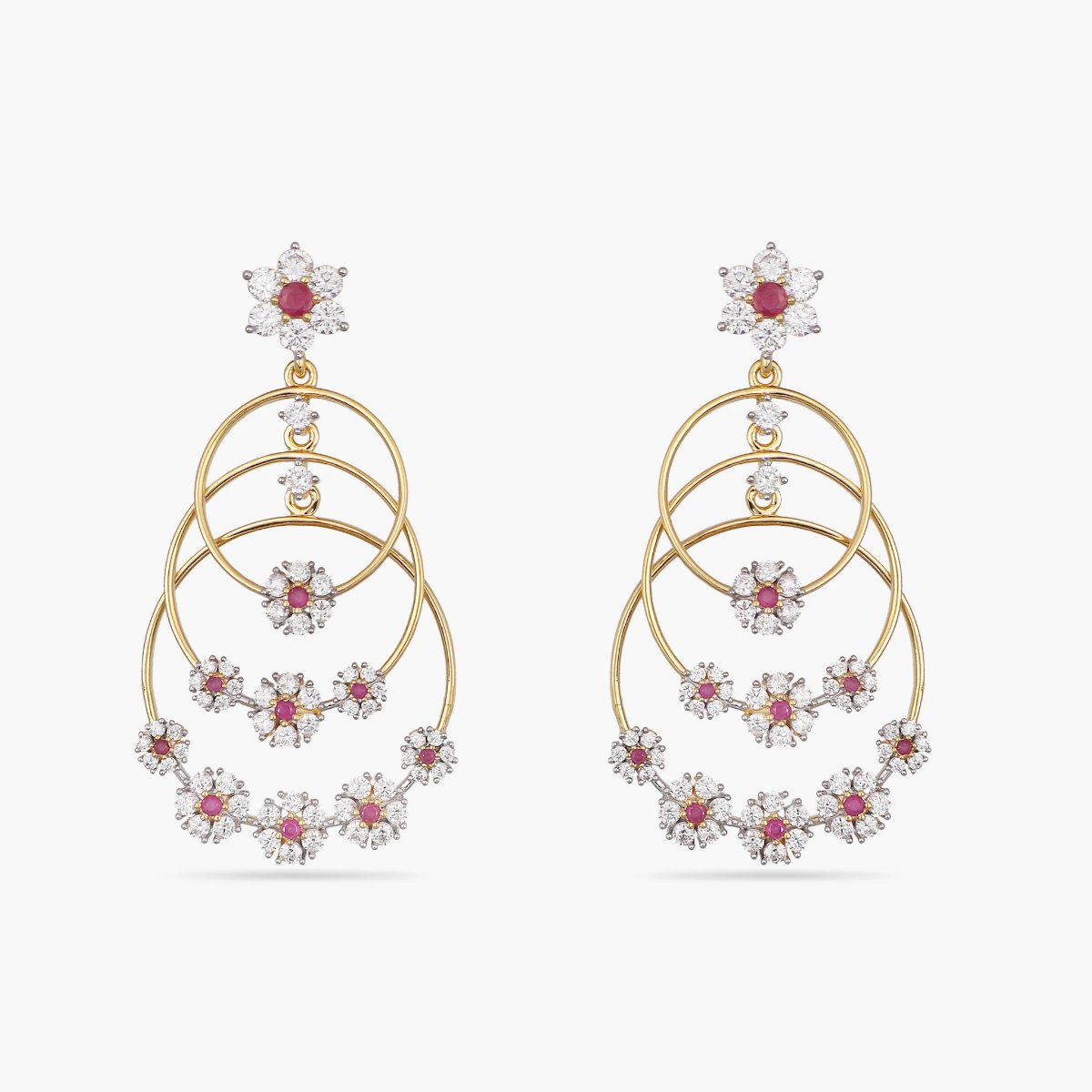 Tilly Nakshatra CZ Earrings