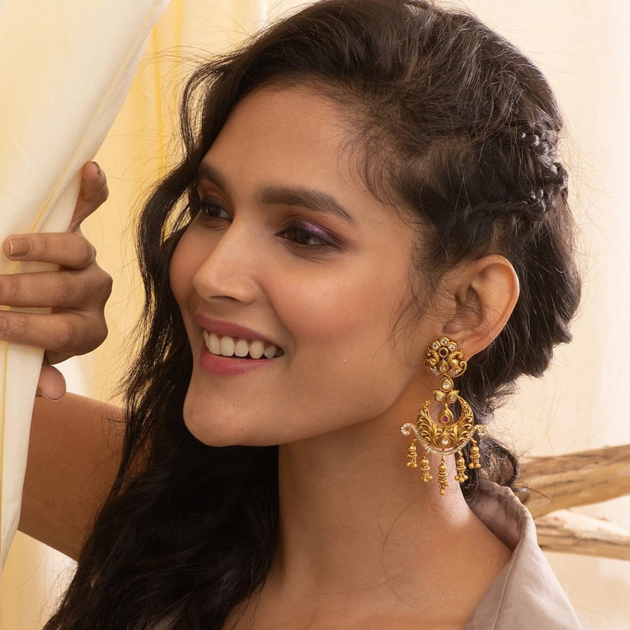 Ritika Antique Earrrings