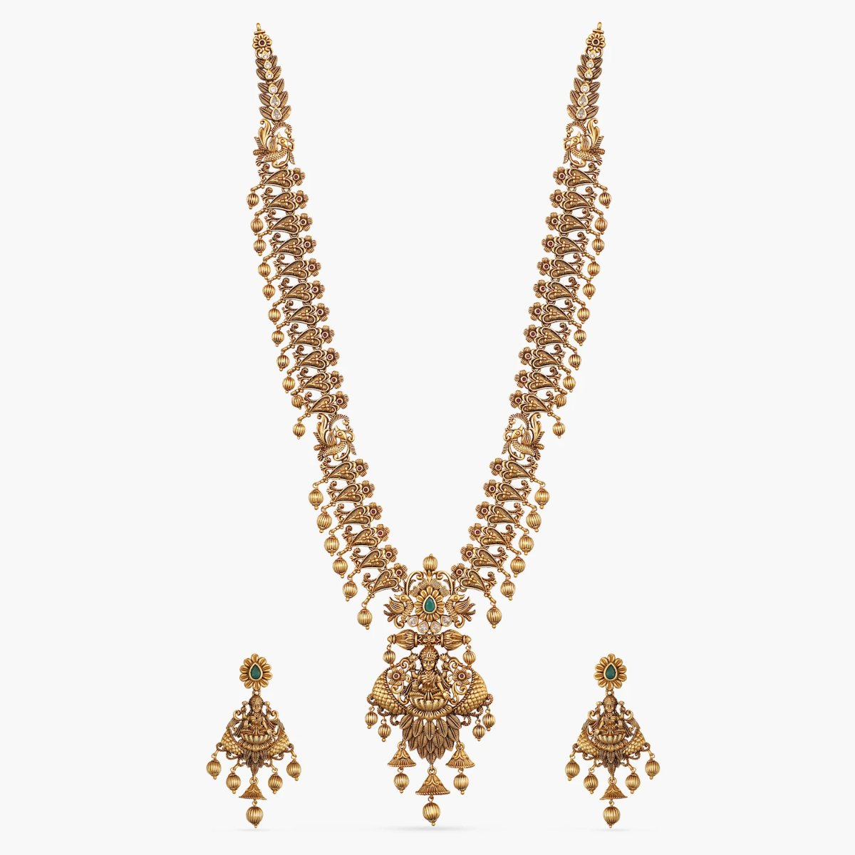 Anivarya  Antique Long Necklace Set