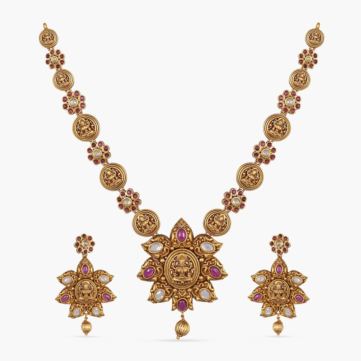 Aaryahi Antique Necklace Set
