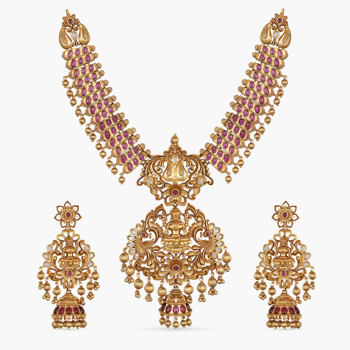 Mayukhi Antique Necklace Set