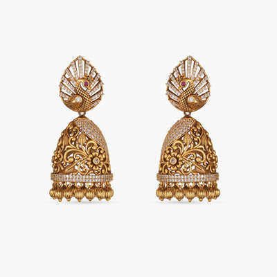 Talika Antique Earrings by Tarinika