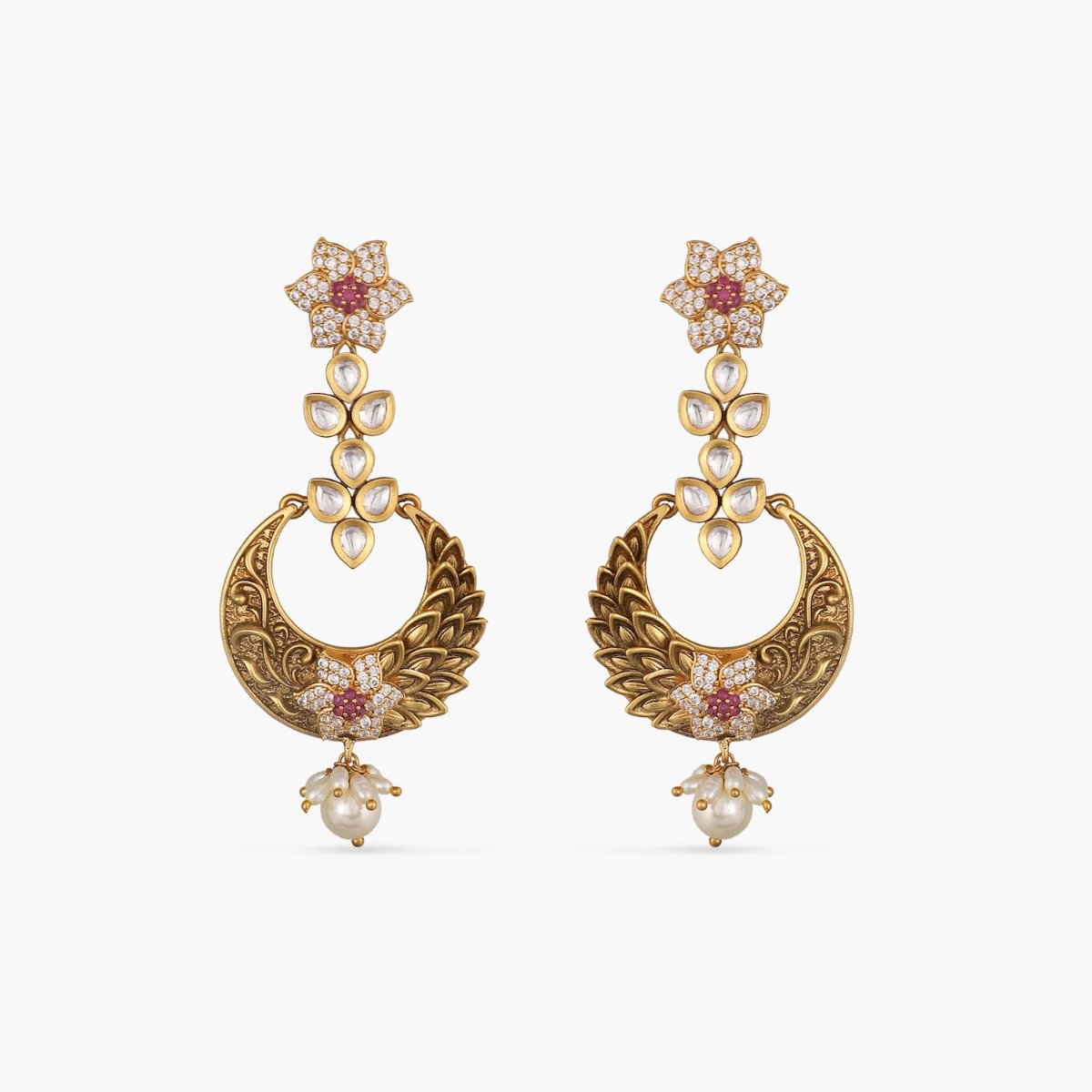 Adrika Kundan Earrings