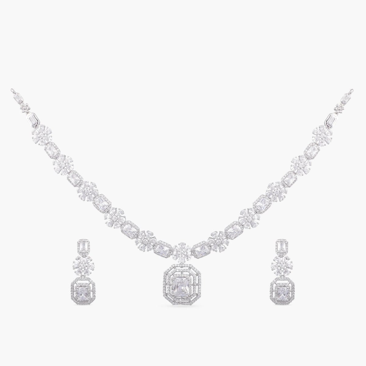 Shini Nakshatra CZ Necklace Set