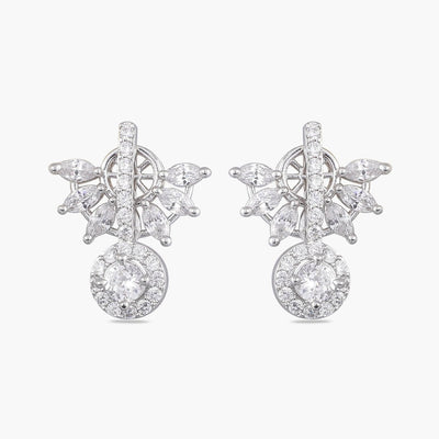 Eta Nakshatra CZ Earrings
