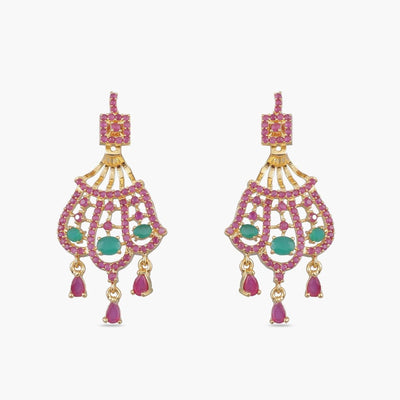 Bina Nakshatra CZ Earrings