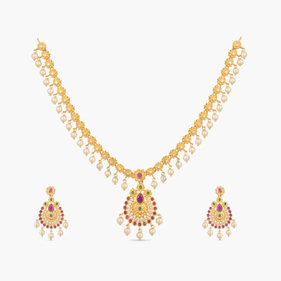 Palki Necklace Set