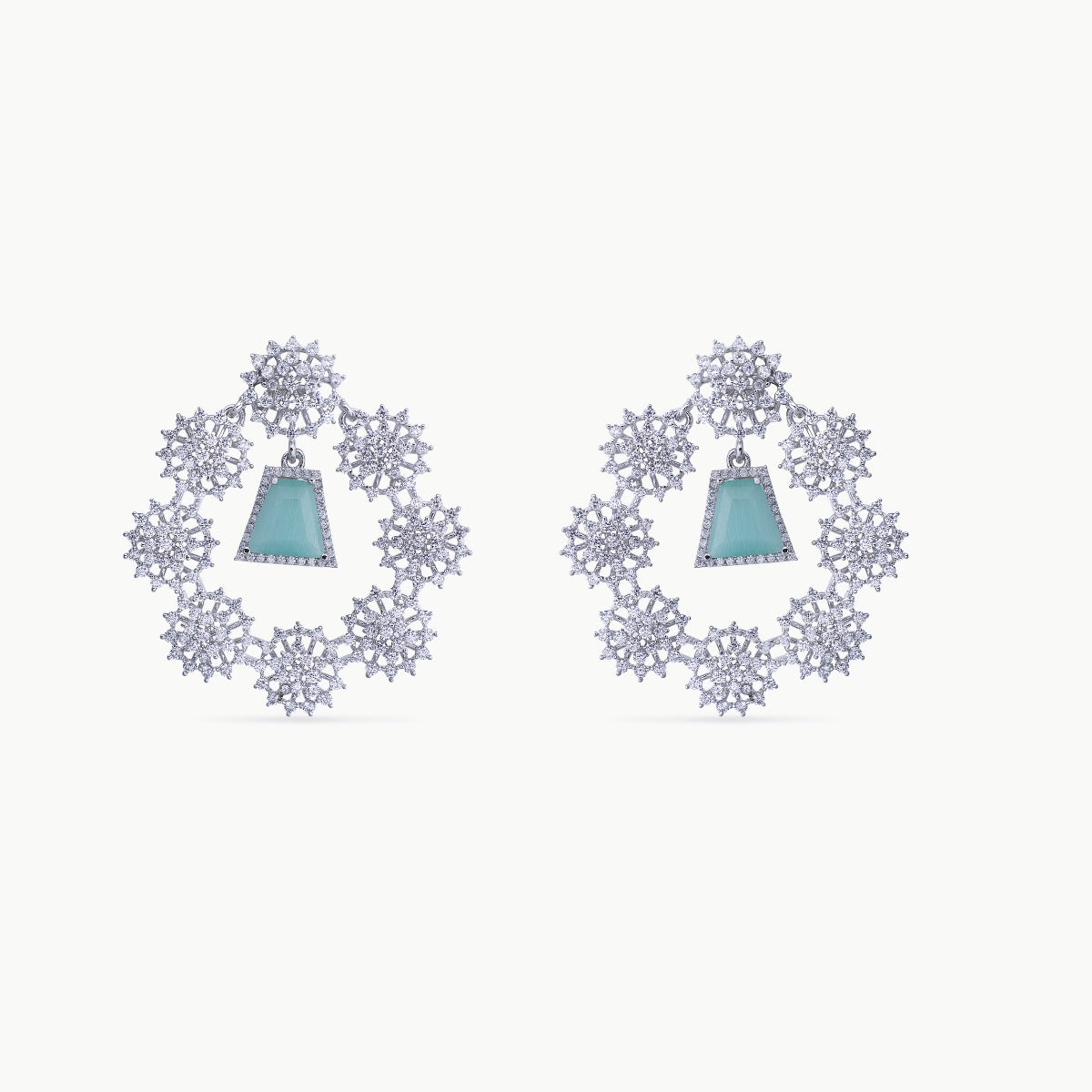Heer Nakshatra CZ Earrings