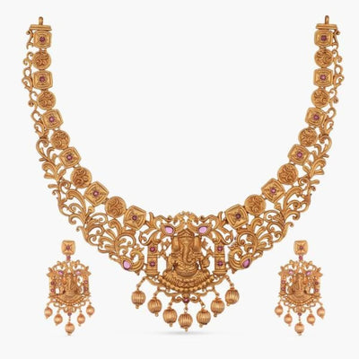 Diya Necklace Set