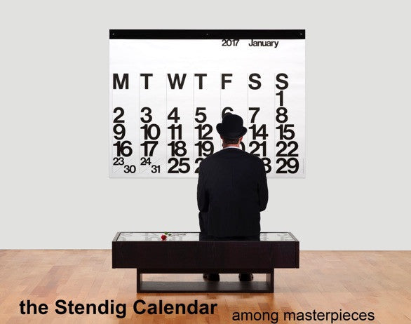 Large Stendig Calendar 2018 pre-sale on now