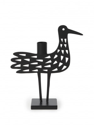 Bengt & Lotta - Shorebird Dot Candle Holder Black