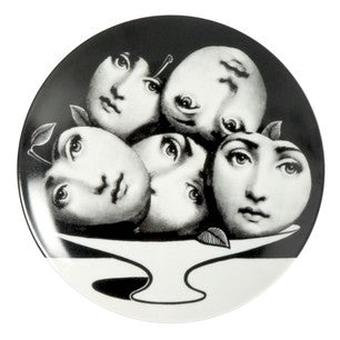 Fornasetti plate Theme & Variations series no 104