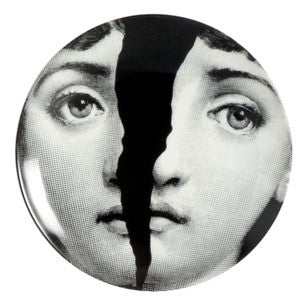 Fornasetti plate Theme & Variations series no 010
