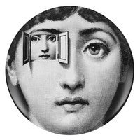 Fornasetti plate Theme & Variations series no 116