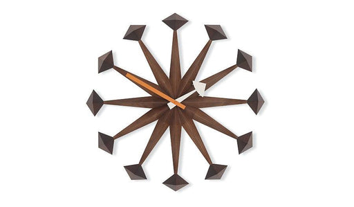 Polygon clock by George Nelson for Vitra