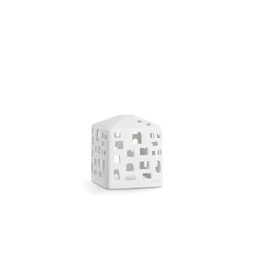 Kähler Design Urbania Votive Candle House Town house White