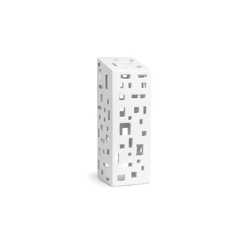 Kähler Design Urbania Votive Candle House High building White