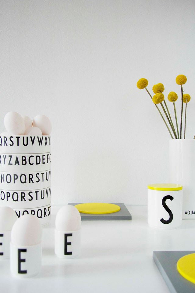 Arne Jacobsen ABC Design Letters porclain Egg cups