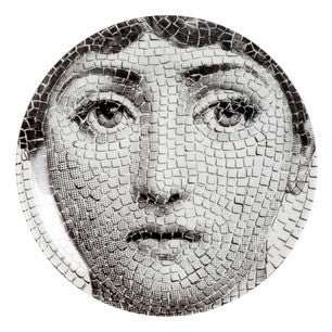 Fornasetti plate Theme & Variations series no 131