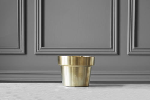 SKULTUNA Flower Pot Mini ,brushed