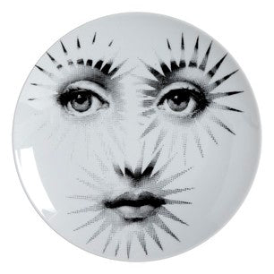 Fornasetti plate Theme & Variations series no 132