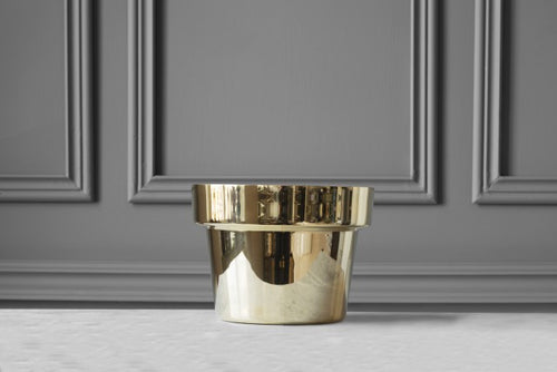 SKULTUNA Flower Pot Small, polished,