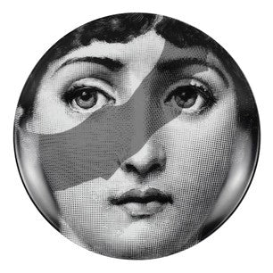 Fornasetti plate Theme & Variations series no 134