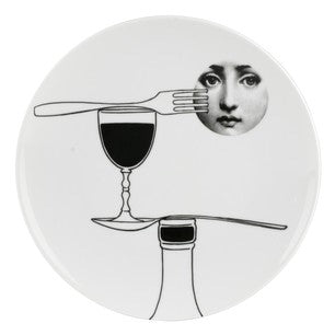 Fornasetti plate Theme & Variations series no 136
