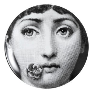 Fornasetti plate Theme & Variations series no 137