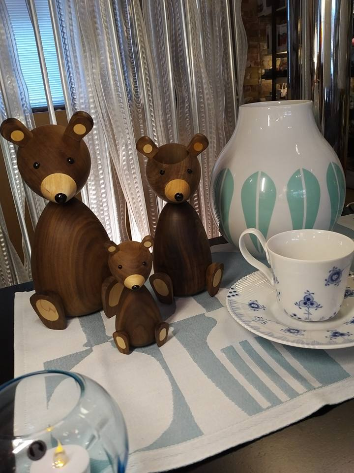 Bear family for Lucie Kaas