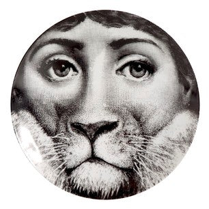 Fornasetti plate Theme & Variations series no 143