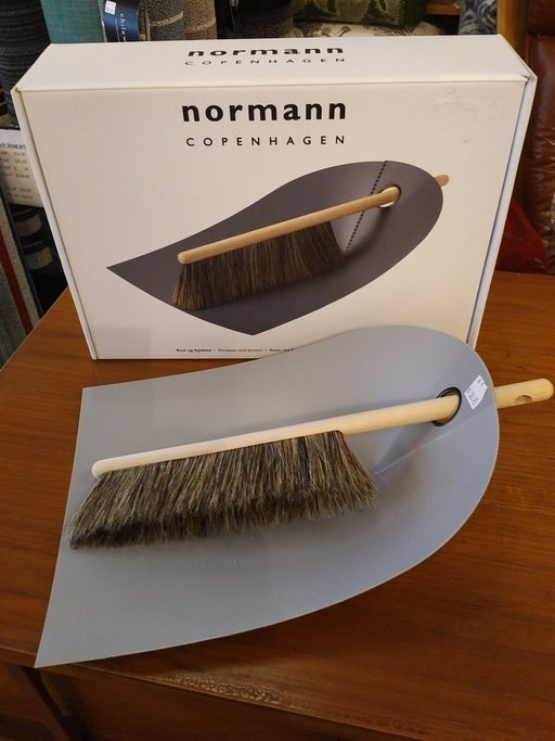 Normann Copenhagen dustpan and brush