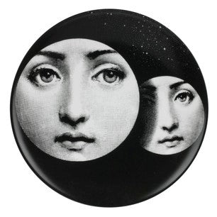 Fornasetti plate Theme & Variations series no 150