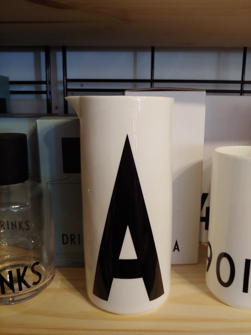 Arne Jacobsen ABC Design Letters Aqua / Water jug