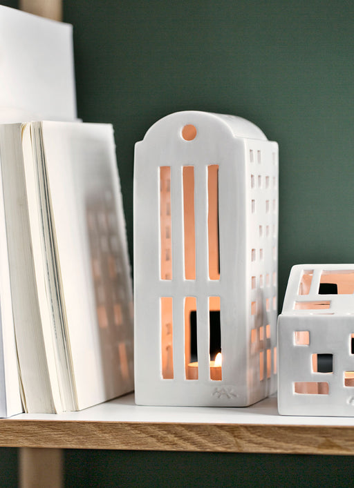 Kähler Design Urbania Votive Candle House Warehouse White