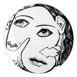 Fornasetti plate Theme & Variations series no 164