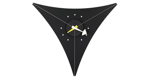 Triangle clock by George Nelson for Vitra