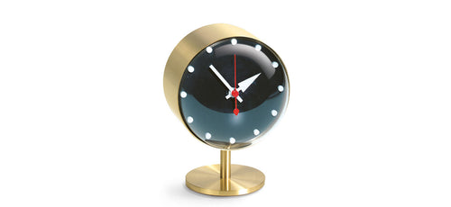 Night desk clock by George Nelson for Vitra