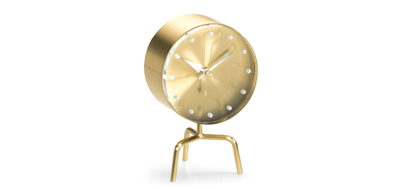 Tripod desk clock George Nelson by Vitra