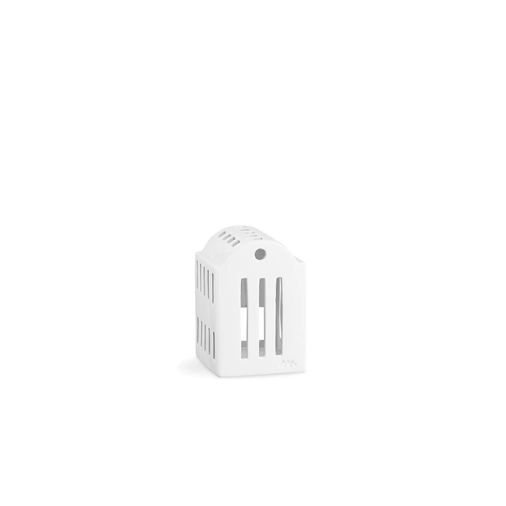 Kähler Design Urbania Votive Candle House Smithy White