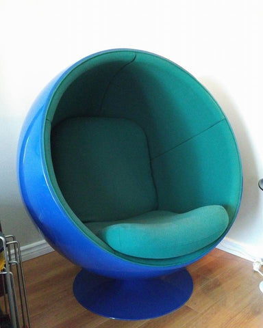ball chair with seat replacement seat only solair chairs original made in canada motel