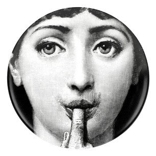 Fornasetti plate Theme & Variations series no 178